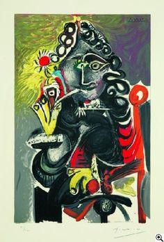 Pablo Picasso - Le Cavalier
