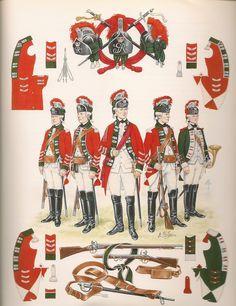 15th Light Dragoons (Eliot's Light Horse) 7 years War