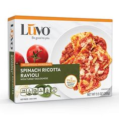 Luvo Spinach Ricotta Ravioli: We taste-tested healthy frozen meals. Here are the freshest, healthiest and most appetizing microwavable dinners.