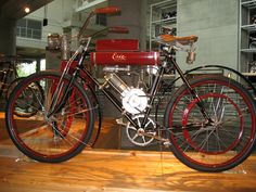 Erie bicycle | Erie motorized bicycle at Barber | George Thomas | Flickr