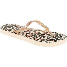 603165cd2b6c88 Isaac Mizrahi Womens Mona Flip Flop Sandals Leopard L -- You can get  additional details