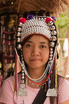 Traditional Headdress Worn By A Young Karen | Flickr - Photo Sharing!