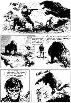 Pellucidar Offerings 3: Werewolf Horror Tale By Frank Frazetta