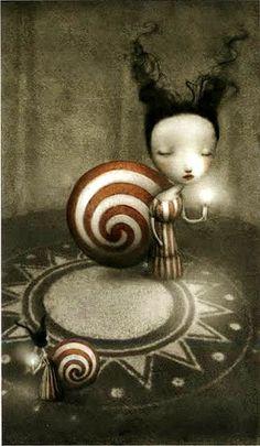 The Hermit - Nicoletta Ceccoli Tarot