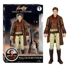 Funko Firefly Legacy Collection Malcolm Reynolds Action Figure - Radar Toys