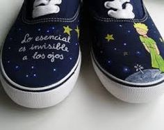 zapatillas pintadas a mano paso a paso - Buscar con Google