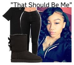 """Today's Outfit 11/15/17"" by g-herbo ❤ liked on Polyvore featuring NIKE and UGG"