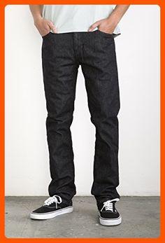 RVCA Men's Daggers Denim with Back Patch Pockets, Heritage Black, 28 - Mens world (*Amazon Partner-Link)