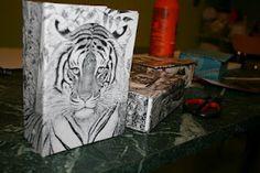 Handicraft cardboard boxes