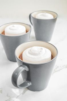 Cardamom Hot Chocolate with Homemade Marshmallows | http://www.chocolateandconnie.com/cardamom-hot-chocolate/