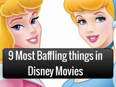 9 Most Baffling Things in Disney Movies