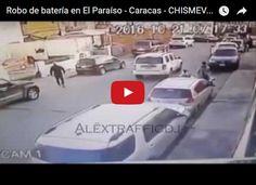 Robo de Batería en El Paraíso No estamos hablando de El Paraíso terrenal ya que no han legado muchos venezolanos por allá. Se trata de El Paraíso en Caracas en donde un... http://www.facebook.com/pages/p/584631925064466