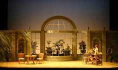 The Importance of Being Earnest. Set design by Sarah Lambert.