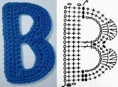 Crochet Letter Patterns Archives - Beautiful Crochet Patterns and Knitting Patterns Alphabet Au Crochet, Crochet Letters Pattern, Crochet Square Patterns, Letter Patterns, Crochet Stitches, Knitting Patterns, Crochet Flip Flops, Patron Crochet, Small Letters