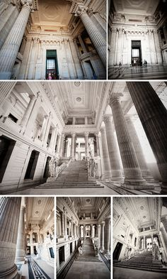 The Supreme Court of Belgium - Palace du Justice Peek inside for free!