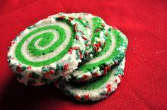 Festive Swirl Sugar Cookies - Foodista.com