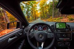 The athletic GLE450 AMG Coupe is the perfect tour guide for a leaf peeping journey, obliging every turn—on and off road—with poise, grace and a sense of adventure.