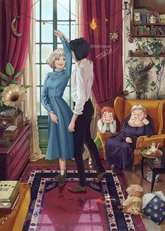 From the anime movie by can find Hayao miyazaki and more on our website. Totoro, All Studio Ghibli Movies, Studio Ghibli Art, Howl Pendragon, Personajes Studio Ghibli, Howl And Sophie, Howls Moving Castle, Animation, Fan Art