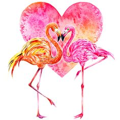 Flamingo Love This illustration is part of my SummeryGems series, dedicated to my love affair with Summer & Jewelry. Will be sharing something from this series everyday throughout this month!Excited to celebrate Summer with you! Illustration bySunny Gu Get updates fromFacebookTwitterInstagramPinterest