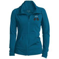 Sport-Tek® Ladies Sport-Wick® Stretch Full-Zip Jacket