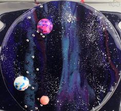 Galaxy cake is the dessert you've been dreaming of!