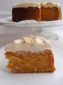 Carrot Cake, Let Them Eat Cake, No Bake Cake, Vanilla Cake, Carrots, Nom Nom, House Cafe, Baking, Desserts