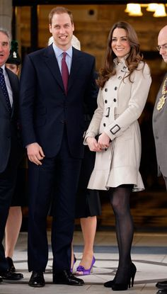 Prince William and Kate Middleton in Belfast