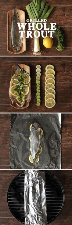 Try a foil packet for an easier, more flavorful way to grill trout this summer!