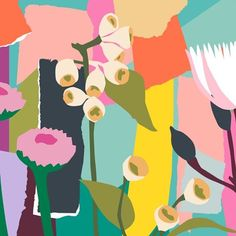 I've hit the ground running in 2017 and am about to start my second mural for the year, here is a snippet of the design..big, bold and bright..just how I wish for your year to be!