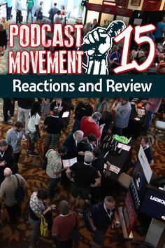 #Podcast Movement (#PM15) is now the best #podcasting conference by and for #podcasters. Here are my reactions and review of the 2015 event in Fort Worth, Texas.