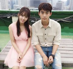 Bring it on Ghost Stars: Taecyeon and Kim So Hyun Bring It On Ghost, Lets Fight Ghost, Korean Actresses, Korean Actors, Actors & Actresses, Korean Dramas, Kpop, Kang Sora, Chines Drama