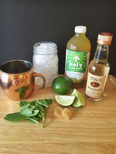 Skinny Moscow Mule cocktail recipe via A Lo Profile (www.aloprofile.com)