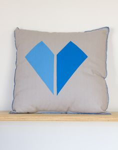 Heart Cushion by Henry & Co