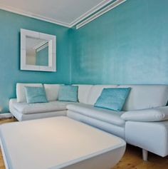 badezimmer fliesen fap ceramiche blau braun schwebender ... - Bad Blau Braun