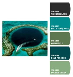 green paint picks for bathrooms (clockwise from top left): 1