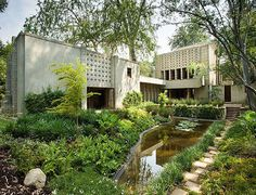 frank llyod wright millard house. pasadena, ca.
