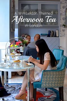 It's summer in London! Come indulge in a Wimbledon themed afternoon tea at The Ampersand Hotel, London to celebrate! | #London #UK #AfternoonTea #Wimbledon