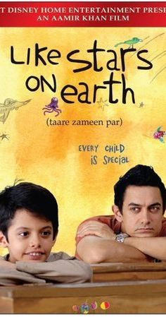 Directed by Aamir Khan, Amole Gupte.  With Darsheel Safary, Aamir Khan, Tanay Chheda, Sachet Engineer. An eight-year-old boy is thought to be lazy and a trouble-maker, until the new art teacher has the patience and compassion to discover the real problem behind his struggles in school.