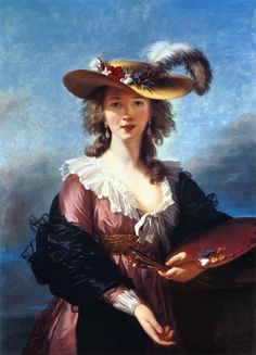 Élisabeth Louise Vigée Le Brun -Autoportret