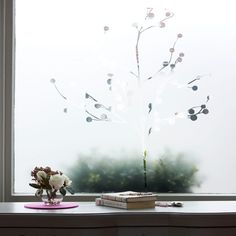 The Frostbrite window panel, from The Window Film Company, which adds privacy and decoration.