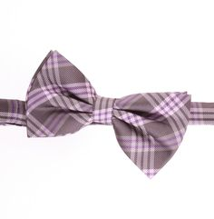 Thick men's Bow tie with colors of grey, gray, tan, and with checkered woven Bow tie design. Checker Design, How To Make Bows, Menswear, Plaid, Dreams, Tie, Gray, Colors, Wedding