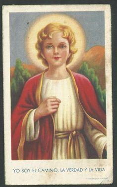 Estampa antigua del Niño Jesus andachtsbild santino holy card santini | eBay