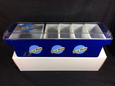 #BlueMoon #Belgium #Ale #Beer #Condiment #Holder #Caddy #Bar ABS Tray New In Box!