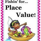 Great game for 4th or 5th grade math! Students have to identify correct place value to make a match. Go Fish!...