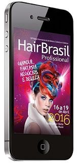 Chic e Fashion: Aplicativo Hair Brasil 2016