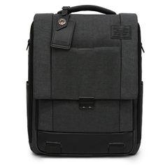 TOPPU3 Way Backpack- S. KoreaMens Laptop Bag for College, 3 Way Bag -> Backpack / Messenger Bag / Tote Bag, 14 inchLaptopCompartment