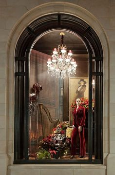 Ralph Lauren Holiday Window Display