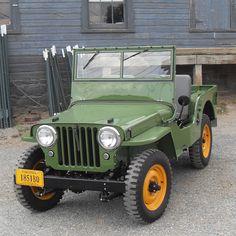 Willys CJ-2A Jeep :: Kaiser Willys Jeep Blog