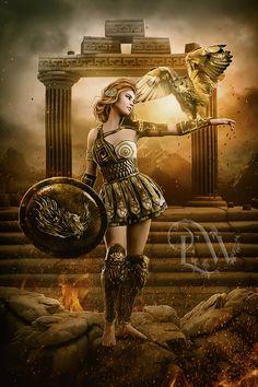 ananke (Ἀνάγκη) - greek goddess of compulsion & inevitability - creativelife Greek Goddess Tattoo, Athena Greek Goddess, Greek Mythology Tattoos, Greek And Roman Mythology, Greek Gods And Goddesses, Aphrodite Goddess, Greek Goddess Mythology, Athena Goddess Of Wisdom, Goddess Warrior