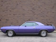 1970 Plymouth Barracuda.  OOH BARRACUDA!!!